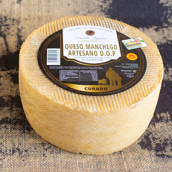queso manchego artesano d.o.p curado