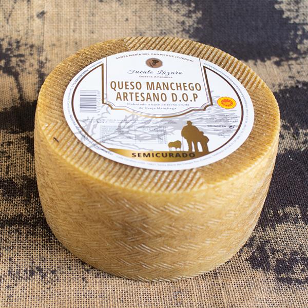 queso manchego artesano d.o.p. semicurado